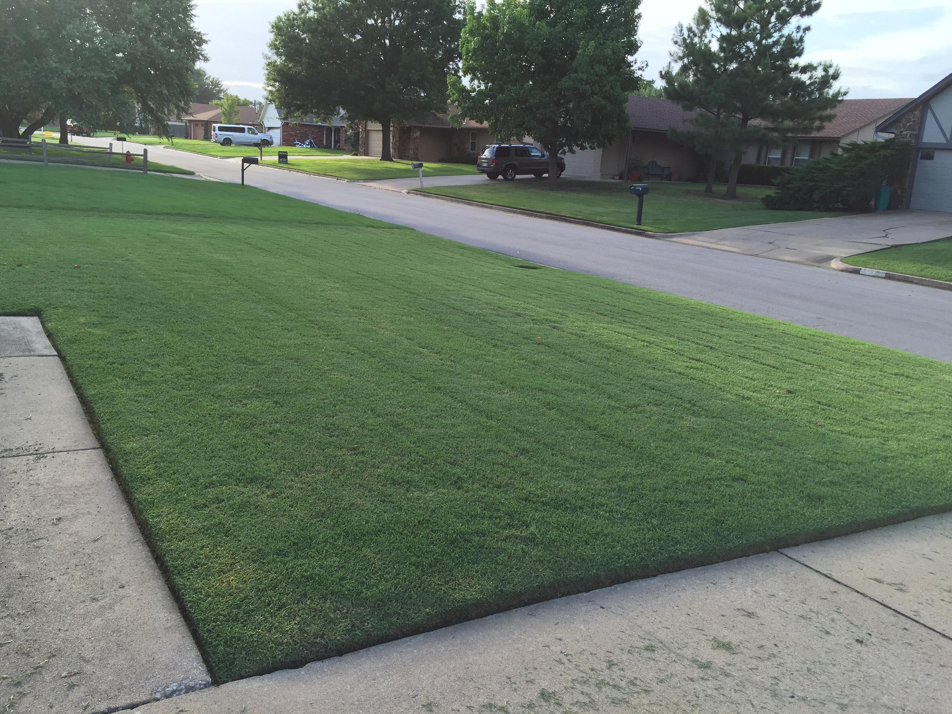 Advanced turf solution llc in broken arrow ok for Home turf texas landscape design llc