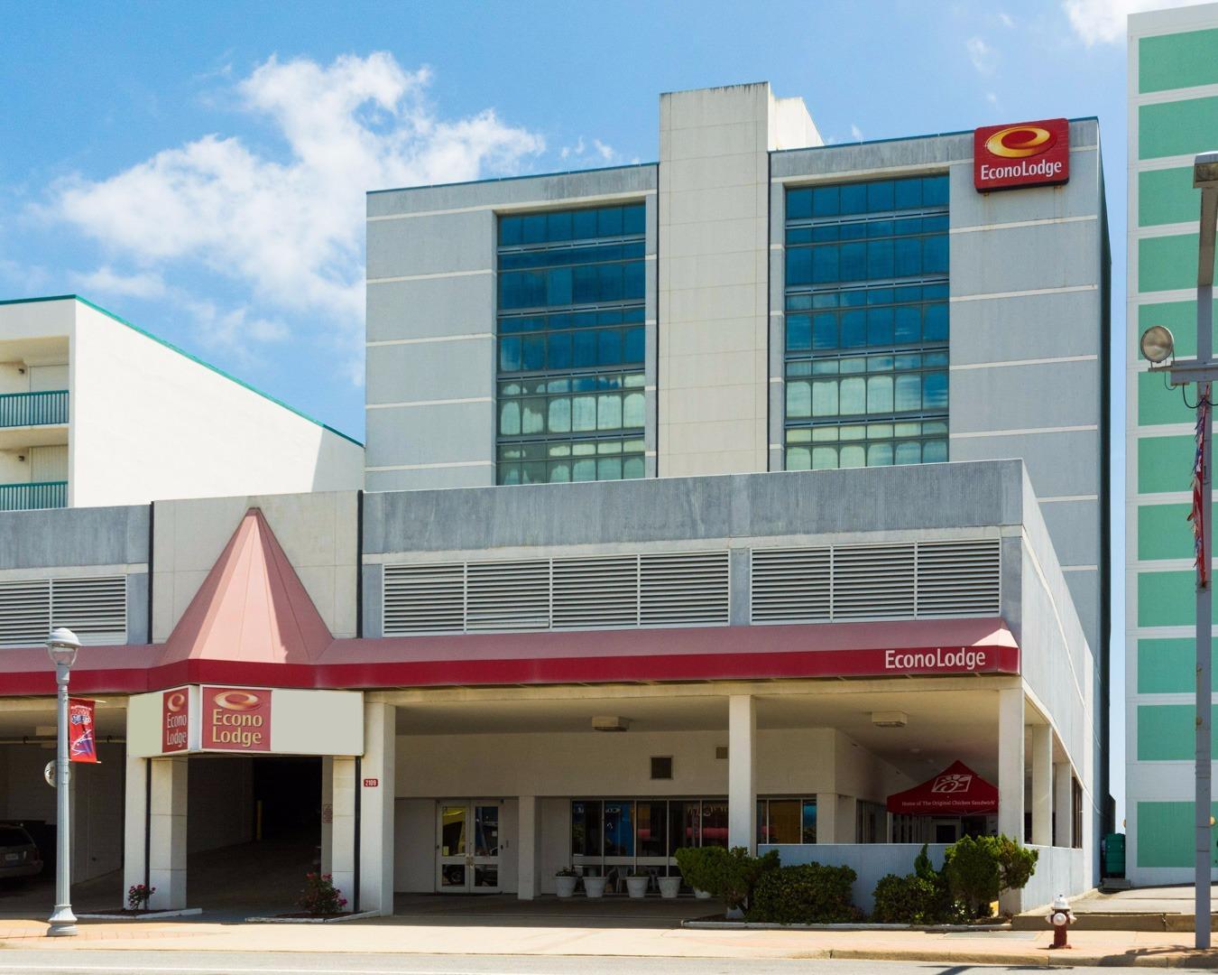 Econo Lodge Oceanfront In Virginia Beach  Va 23451