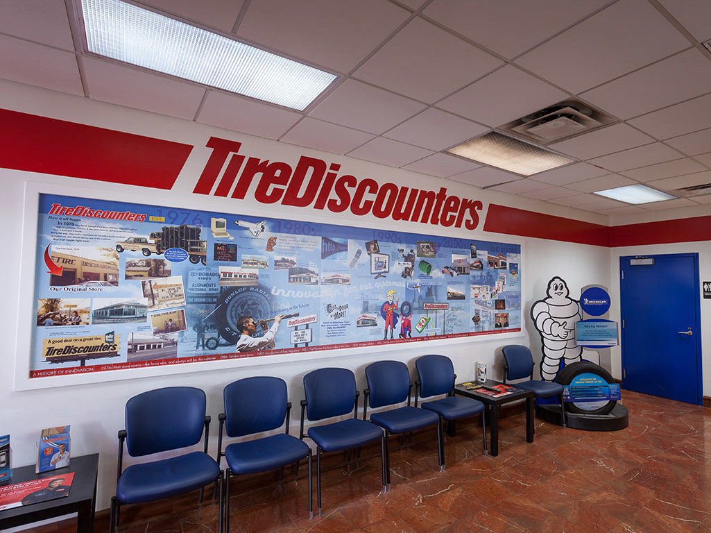 Welcome Welcome to Discount Tire and; Brake, a family owned business on Callahan Drive in Knoxville, TN. Owners Terry (aka Termite) and Donna McMurry have been in business for 25 years.