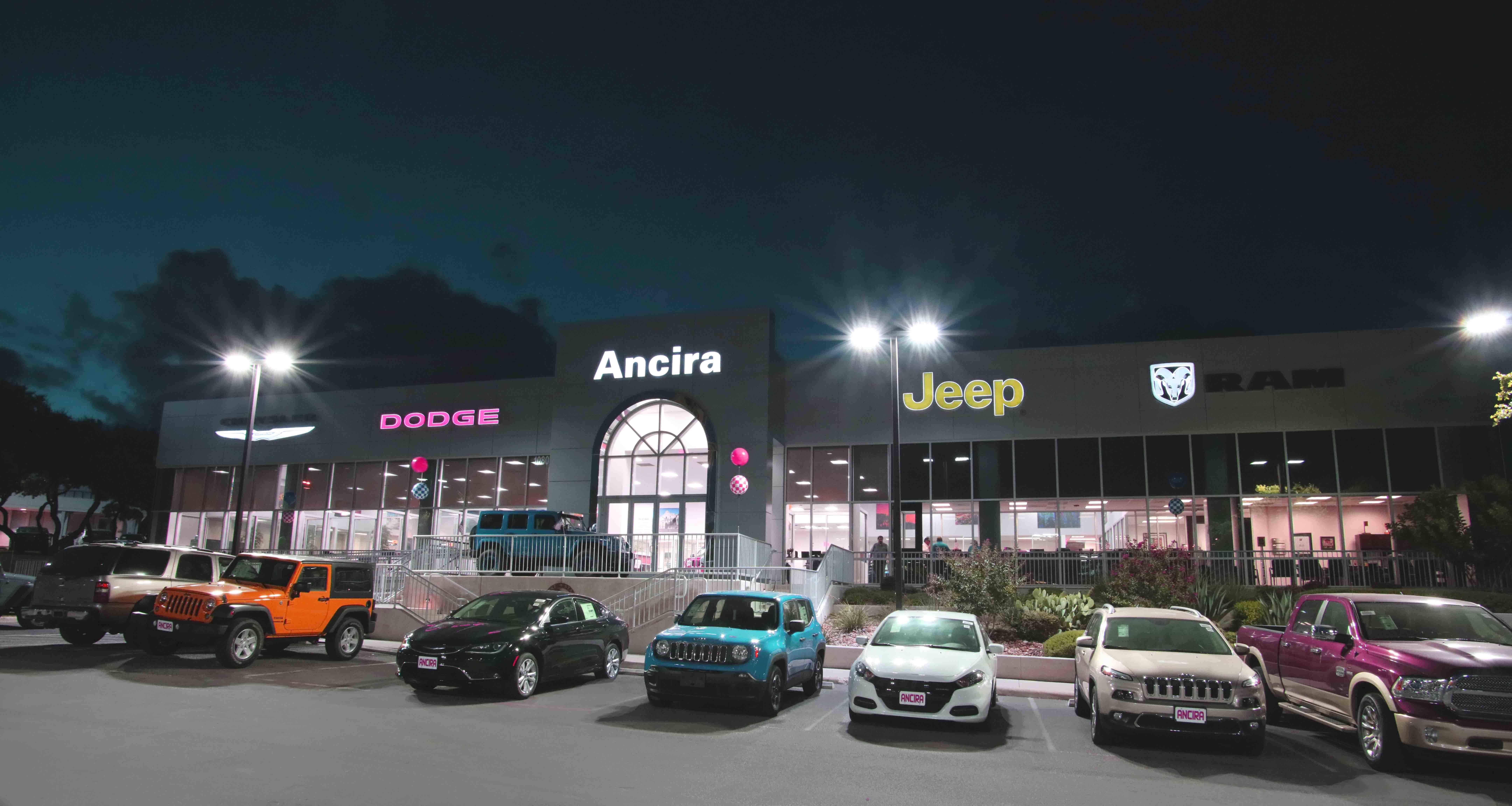 Ancira Chrysler Jeep Dodge Ram San Antonio Texas Tx