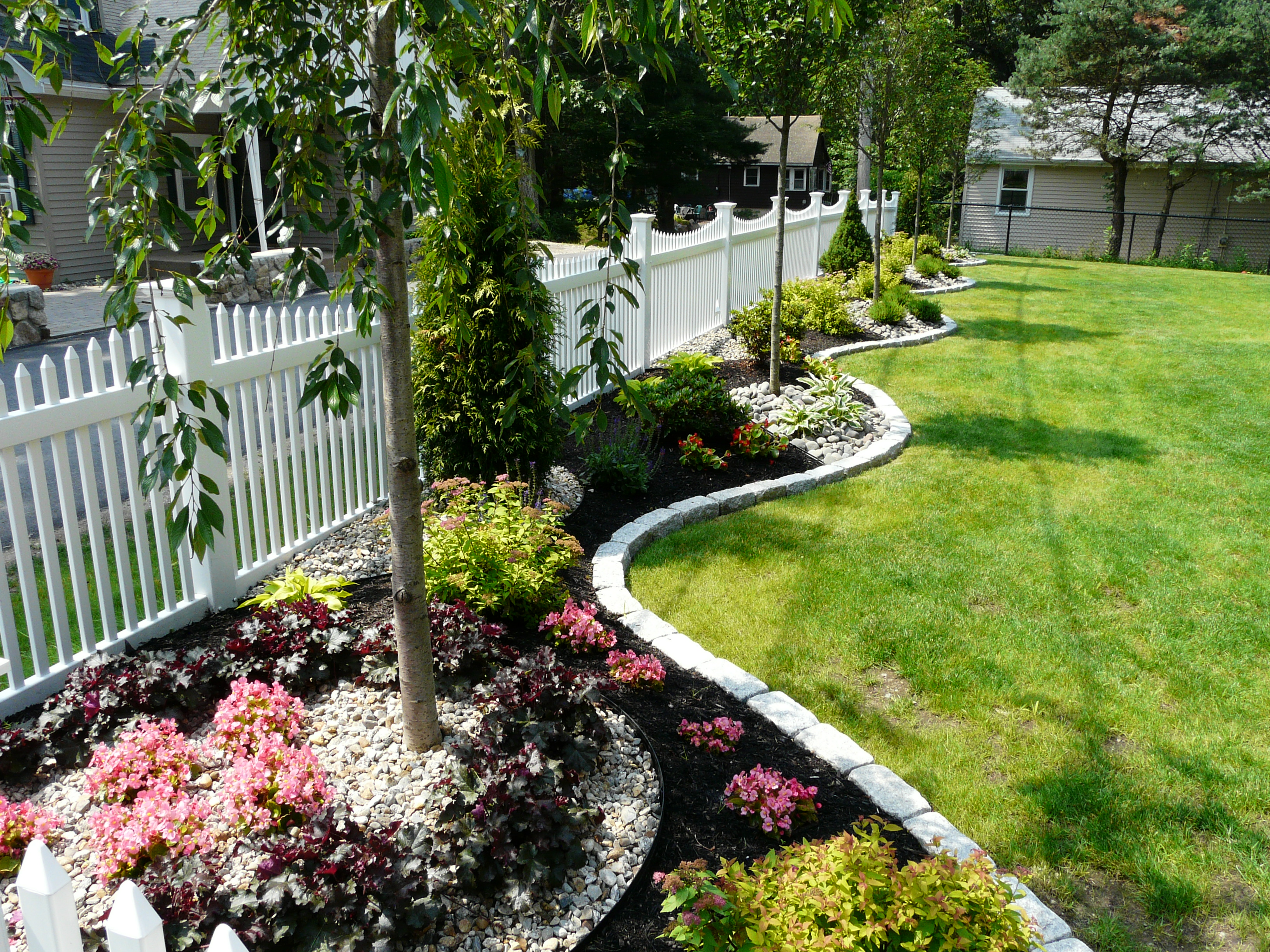 Garden Landscaping Wakefield : Done right landscape construction in wakefield ma