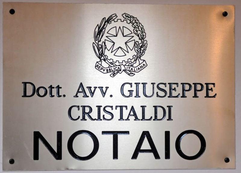 Notaio Giuseppe Cristaldi