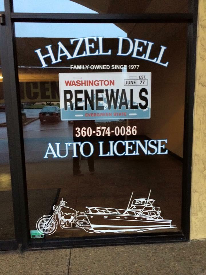 Hazel Dell Auto License In Vancouver Wa 98665