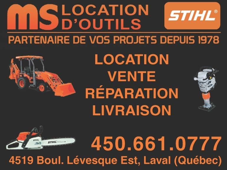 Location d'Outils MS in Laval