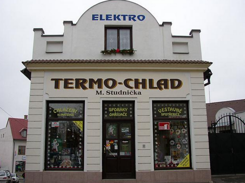 Elektro Studnička, TERMO-CHLAD, prodejna