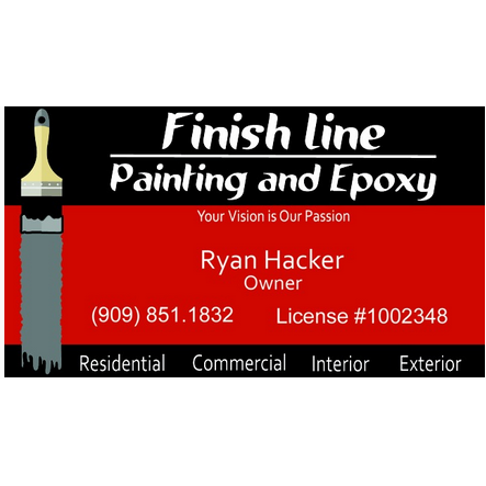 Finish Line Painting