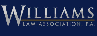 Williams Law Association, P.A. - ad image