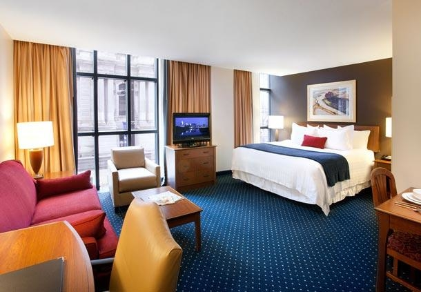 Center City Philadelphia Hotel - Residence Inn by Marriott Philadelphia Center City - Studio Suite