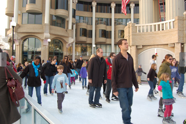 The Washington Harbour Ice Rink