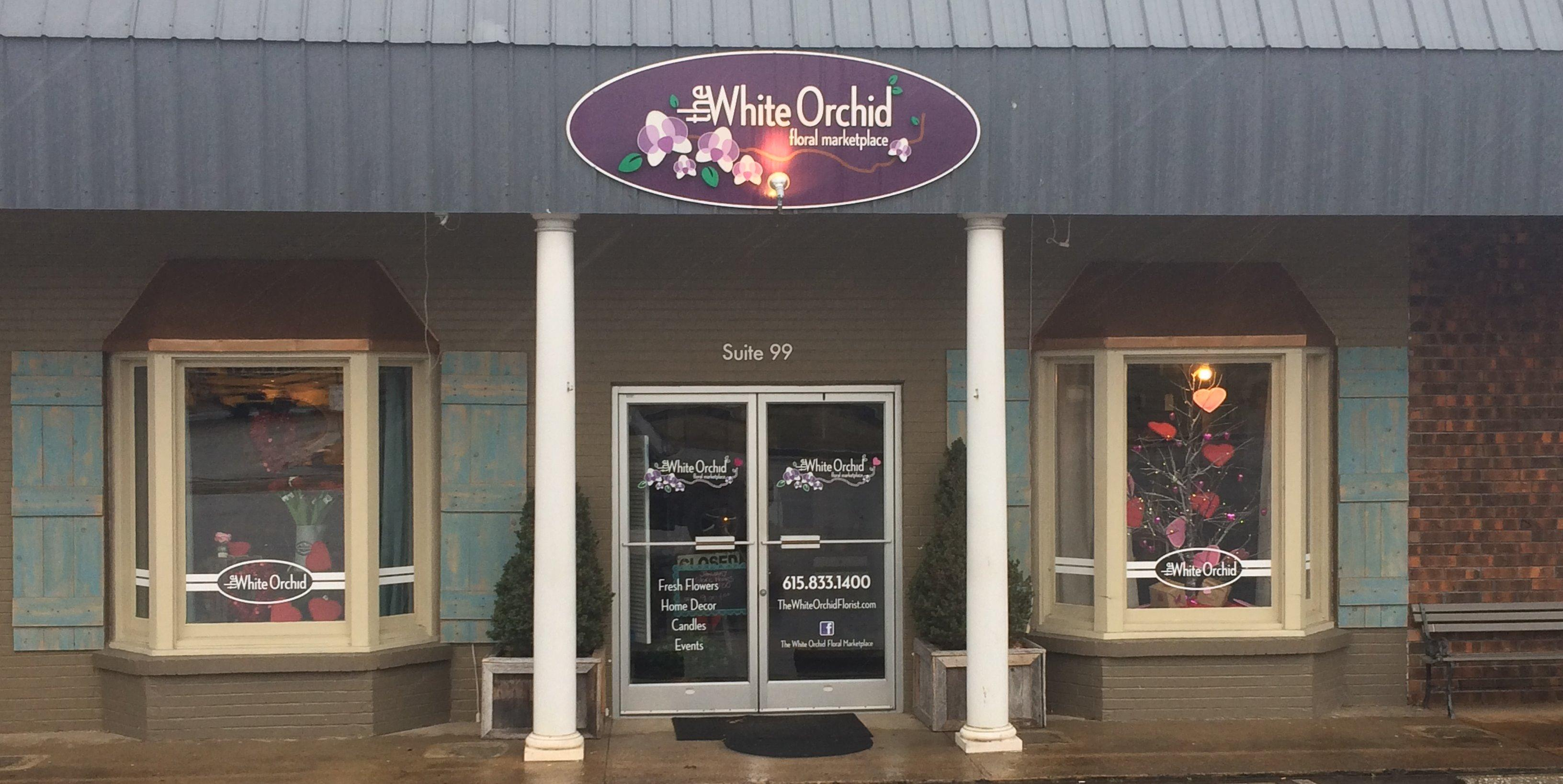 The white orchid in nashville tn
