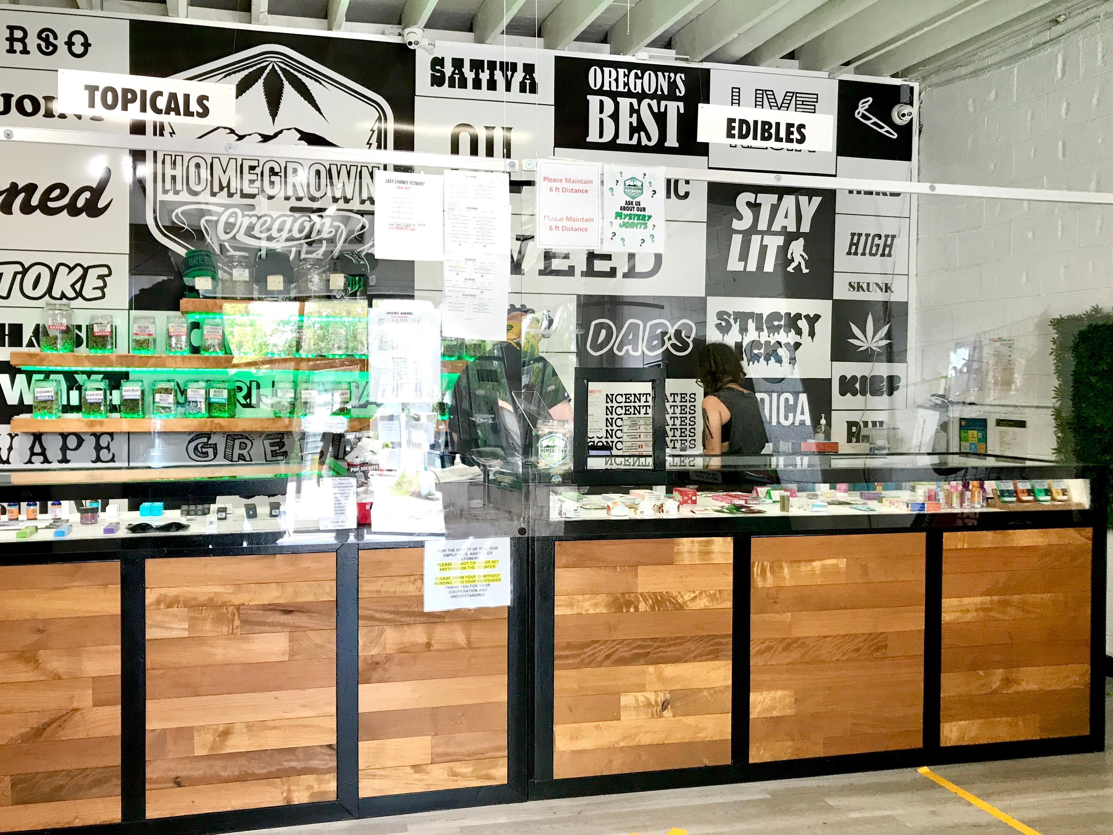 Homegrown Oregon Recreational & Medical Marijuana Dispensary Keizer