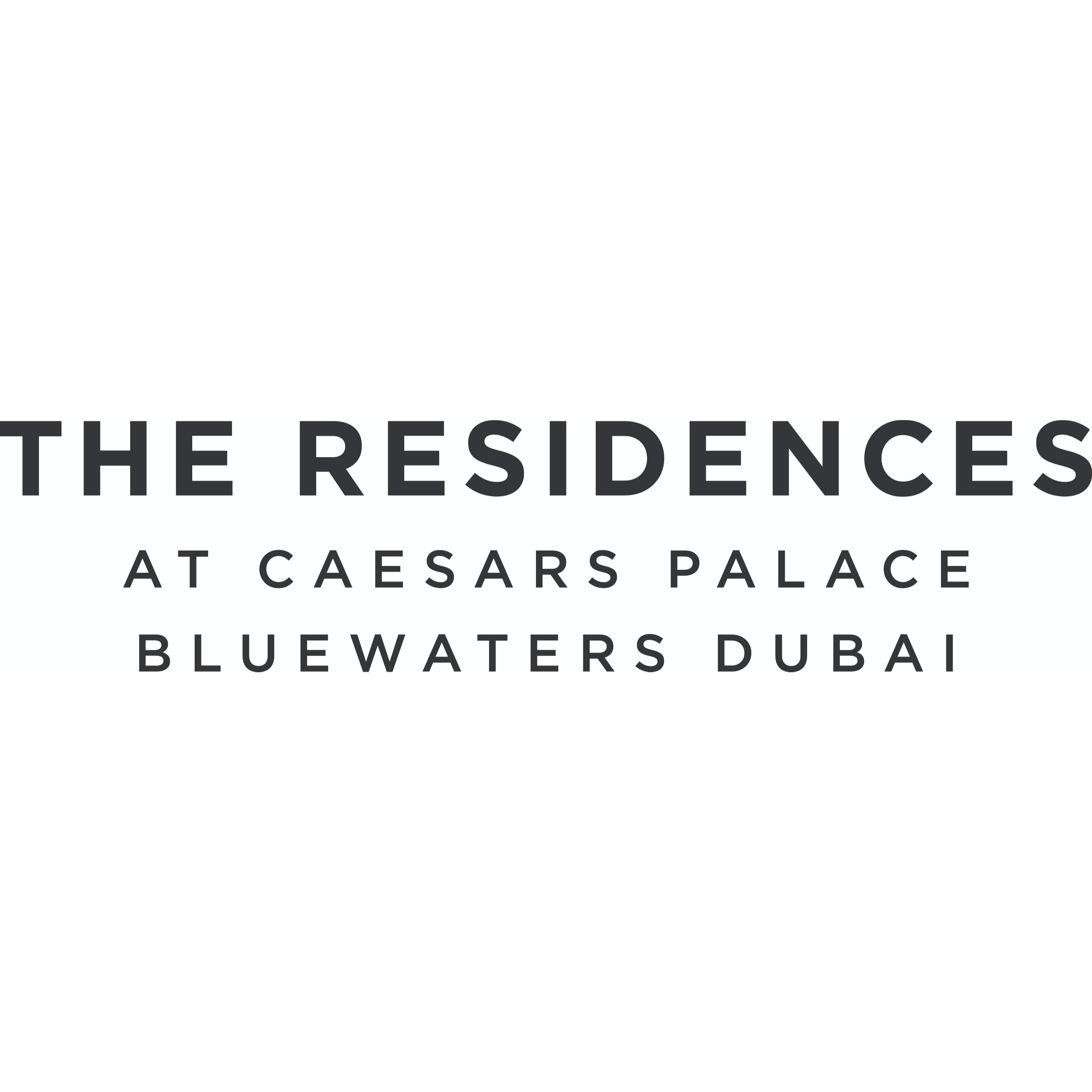 The Residences at Caesars Palace Bluewaters Dubai