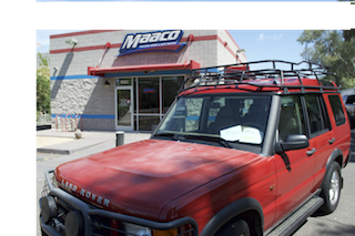 Maaco collision repair auto painting tempe arizona az for Auto painting az