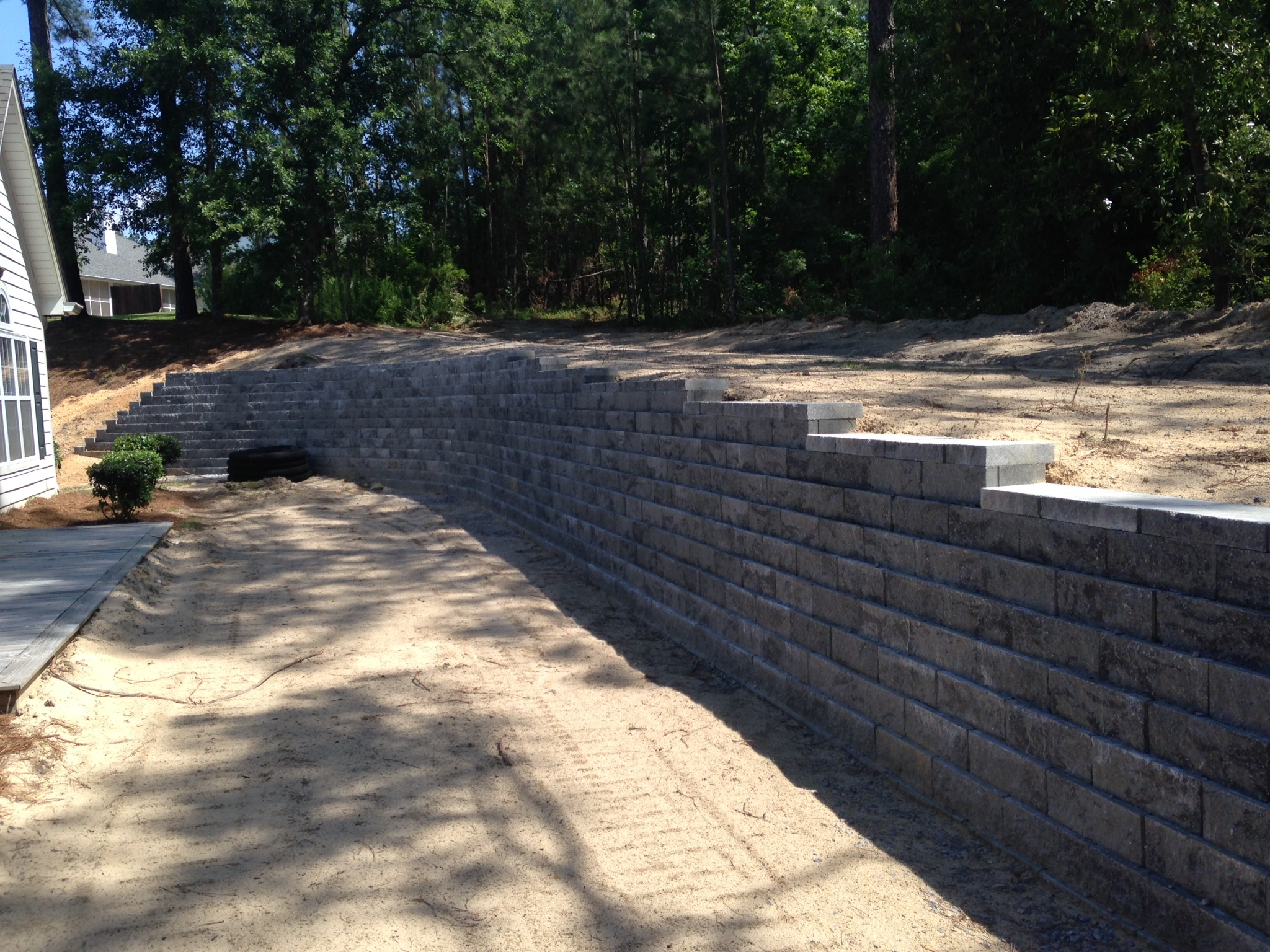 Between the edges lawn care landscaping inc in north for Landscaping rocks augusta ga