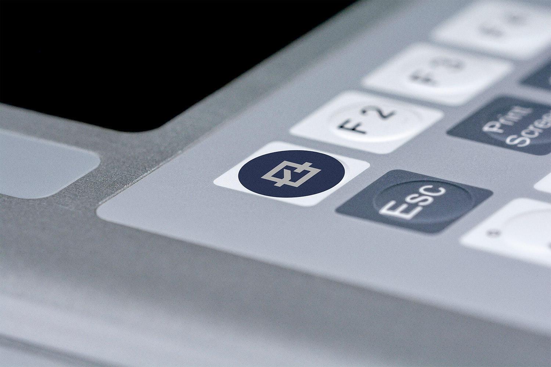 Eingabetastatur für Industrie PCs