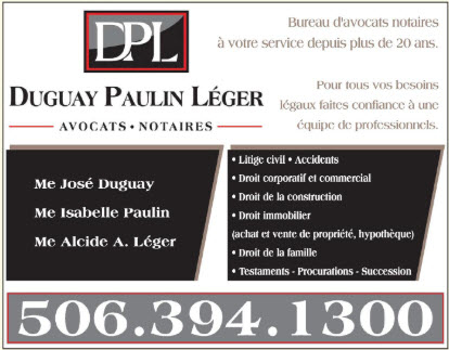 Duguay Paulin Léger Avocats Notaires in Tracadie-Sheila