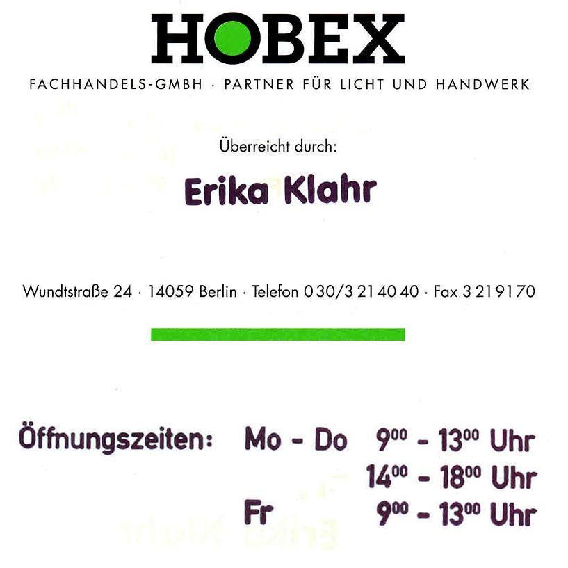 HOBEX Fachhandels-GmbH | Partner für Licht und Handwerk
