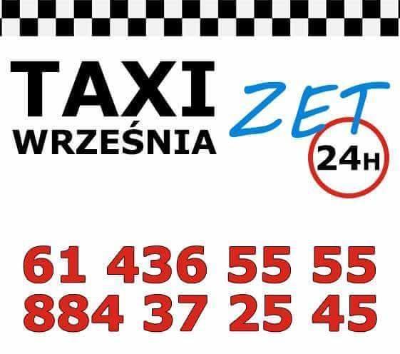 Taxi Września - Taxi Zet Września