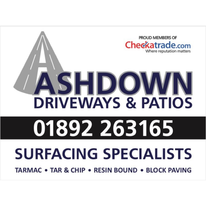 Ashdown Driveways & Patios - Tunbridge Wells, Kent TN1 1UE - 01892 263165   ShowMeLocal.com