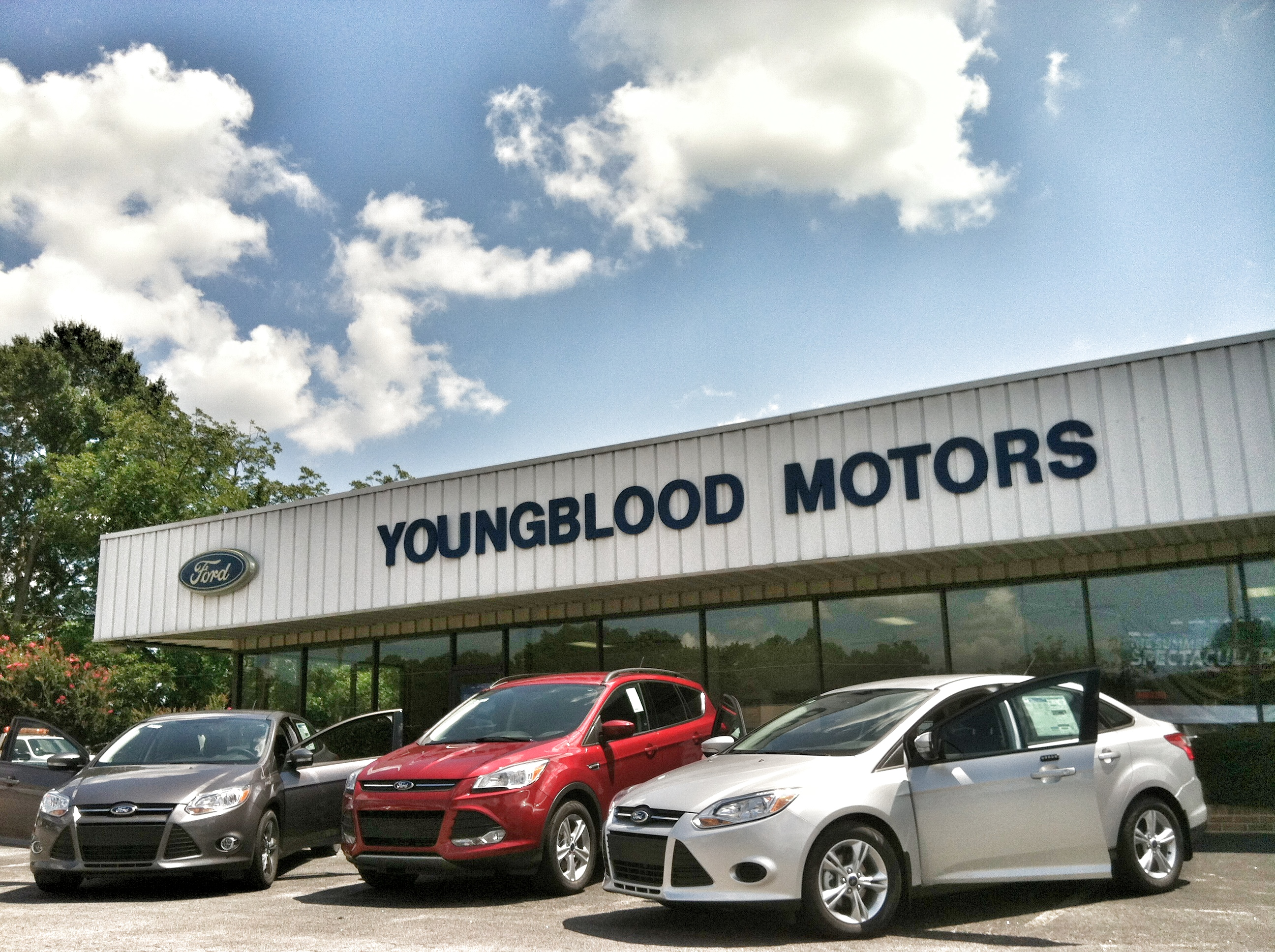 Youngblood Motor Co Ford At 1600 Athens Hwy Madison