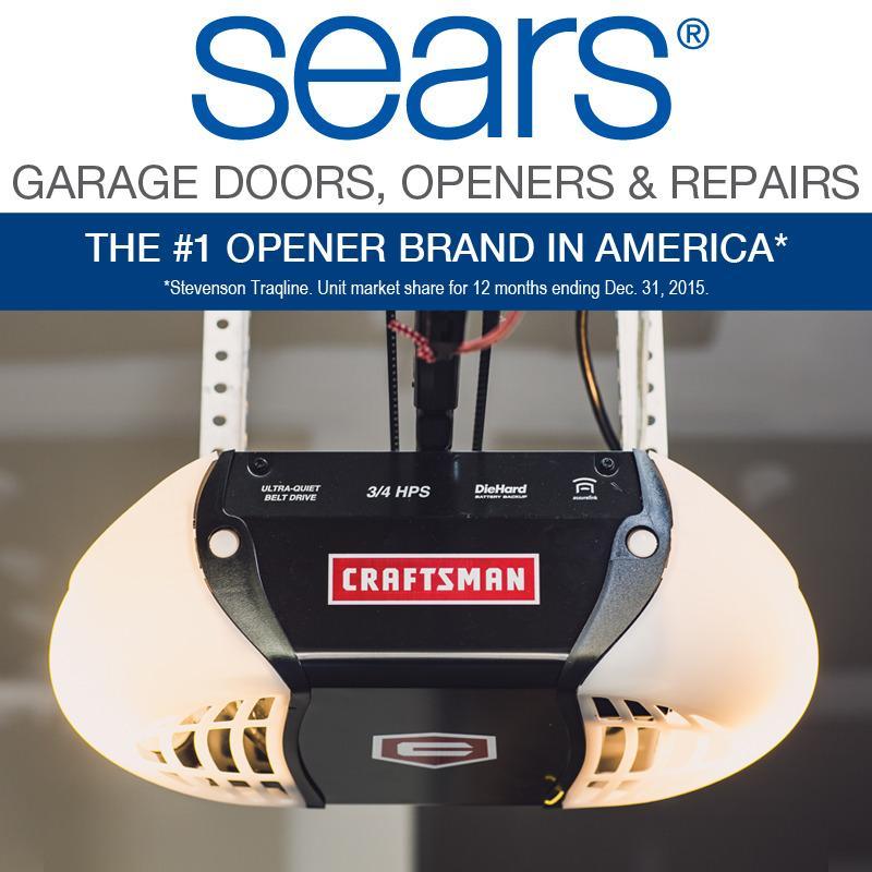 Sears garage door installation and repair in glenview il for Garage door repair glenview il