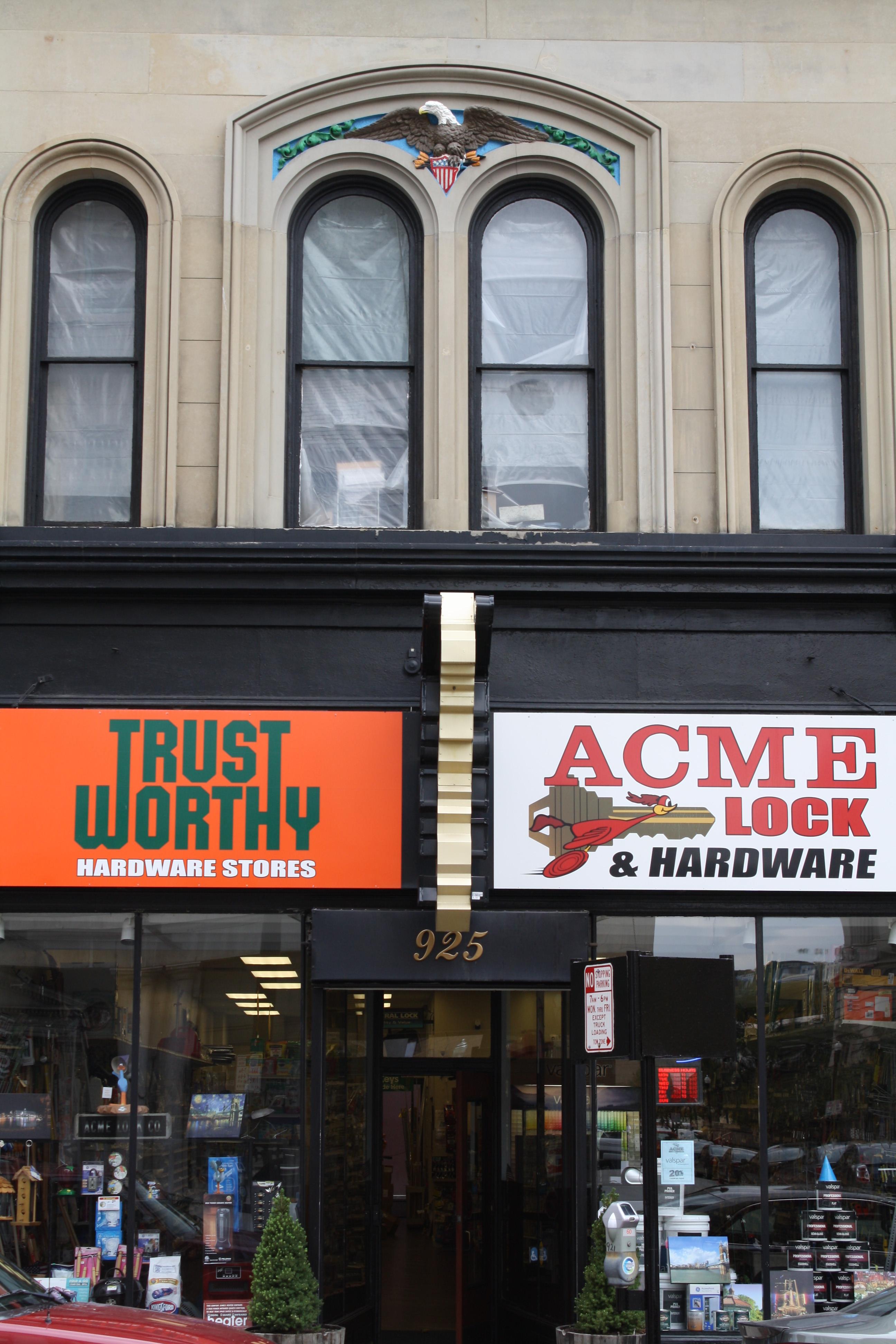 Acme Lock Woods Hardware Cincinnati Ohio Oh Localdatabase Com