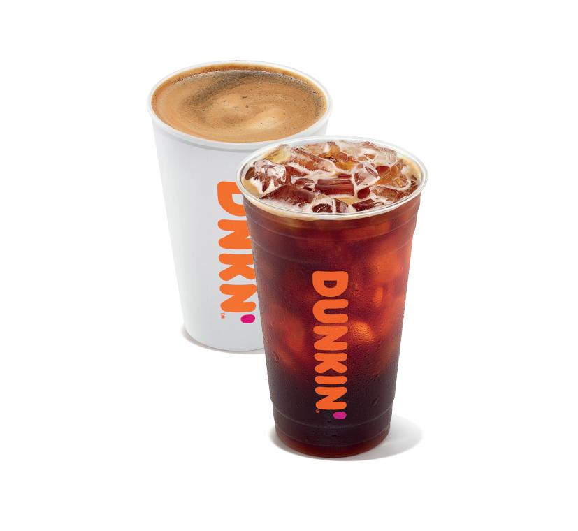 Dunkin' Hot Americano & Iced Americano