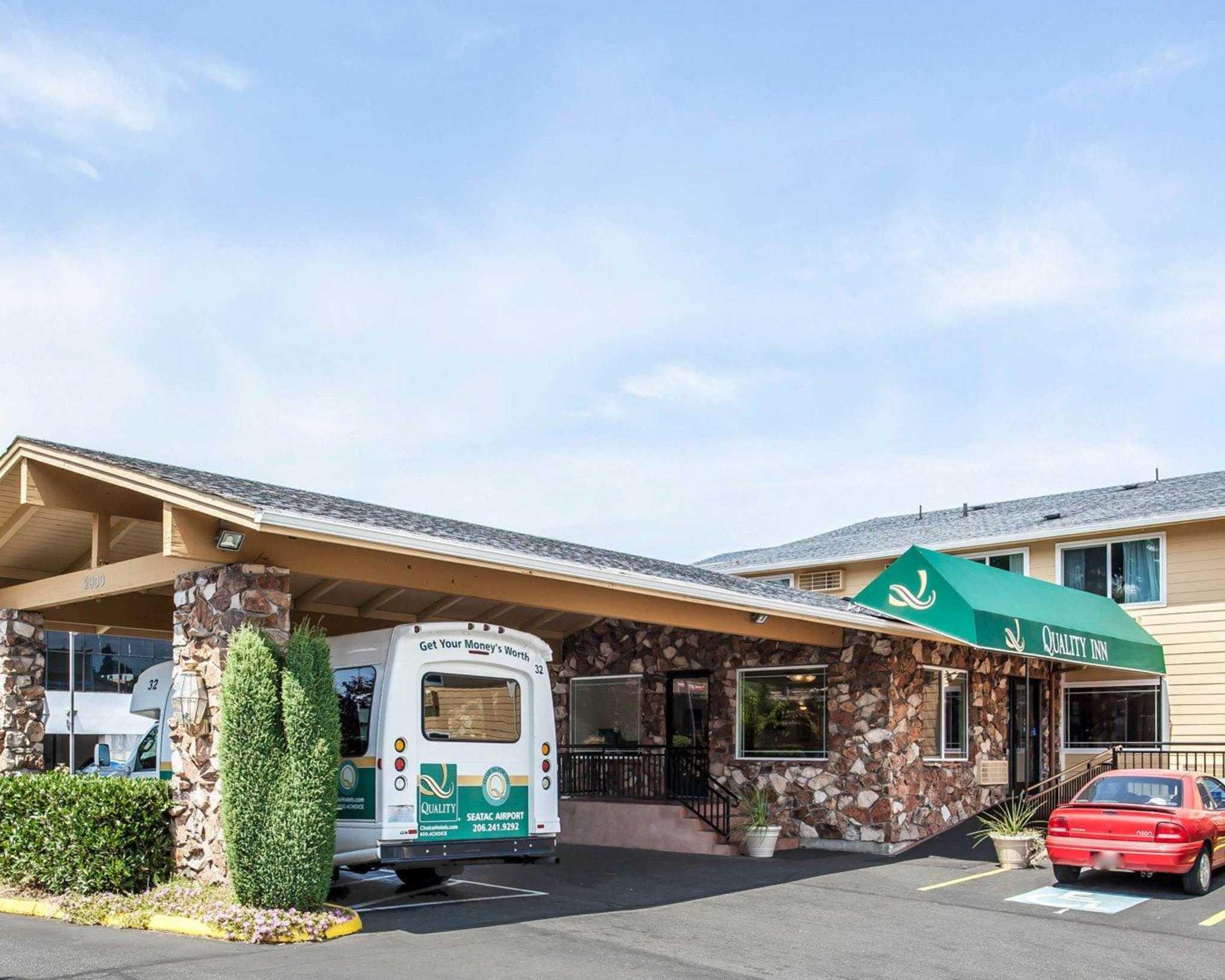 Quality Inn Sea Tac Airport Seattle Washington Wa