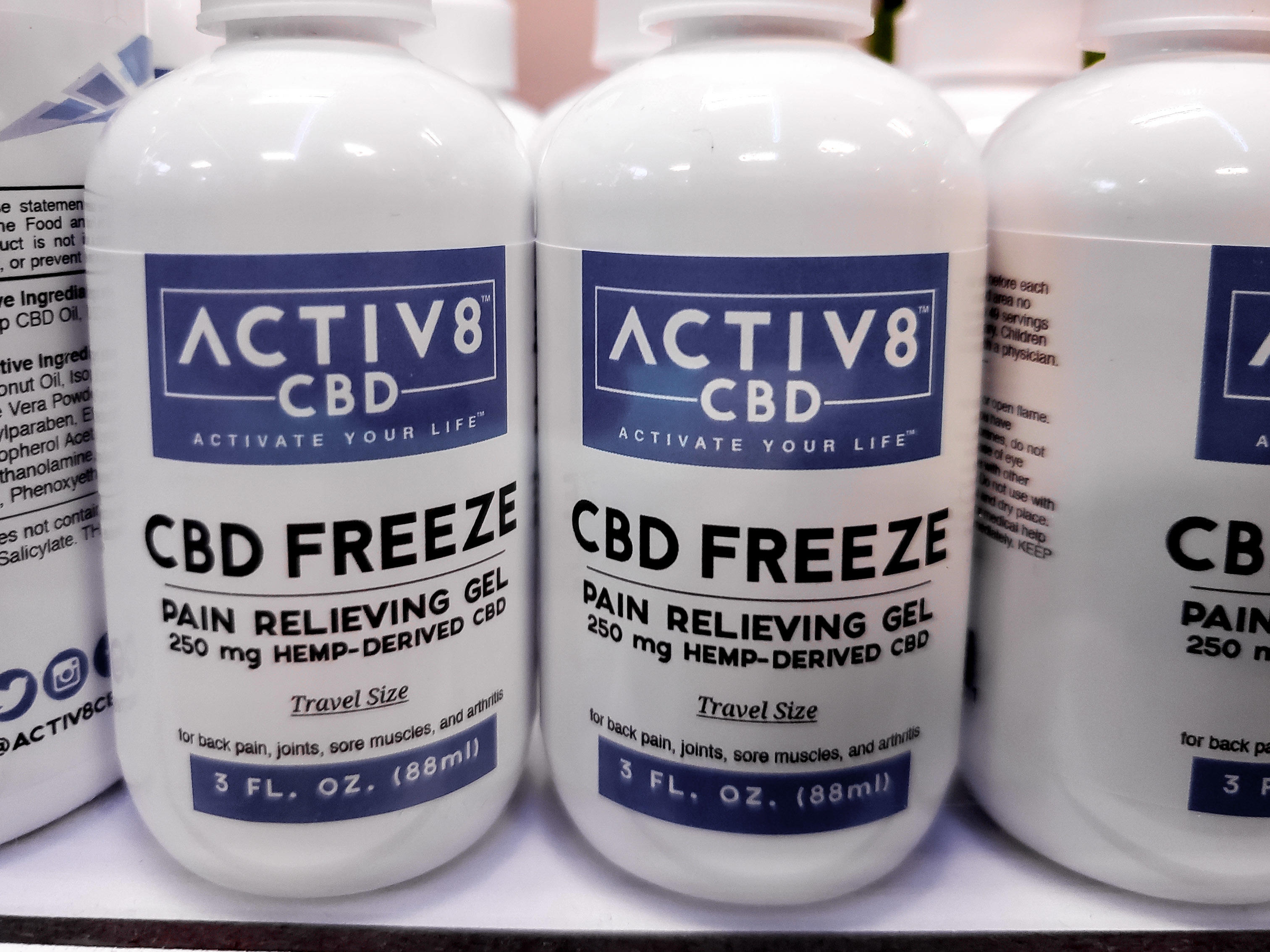 ACTIV8 CBD Freeze
