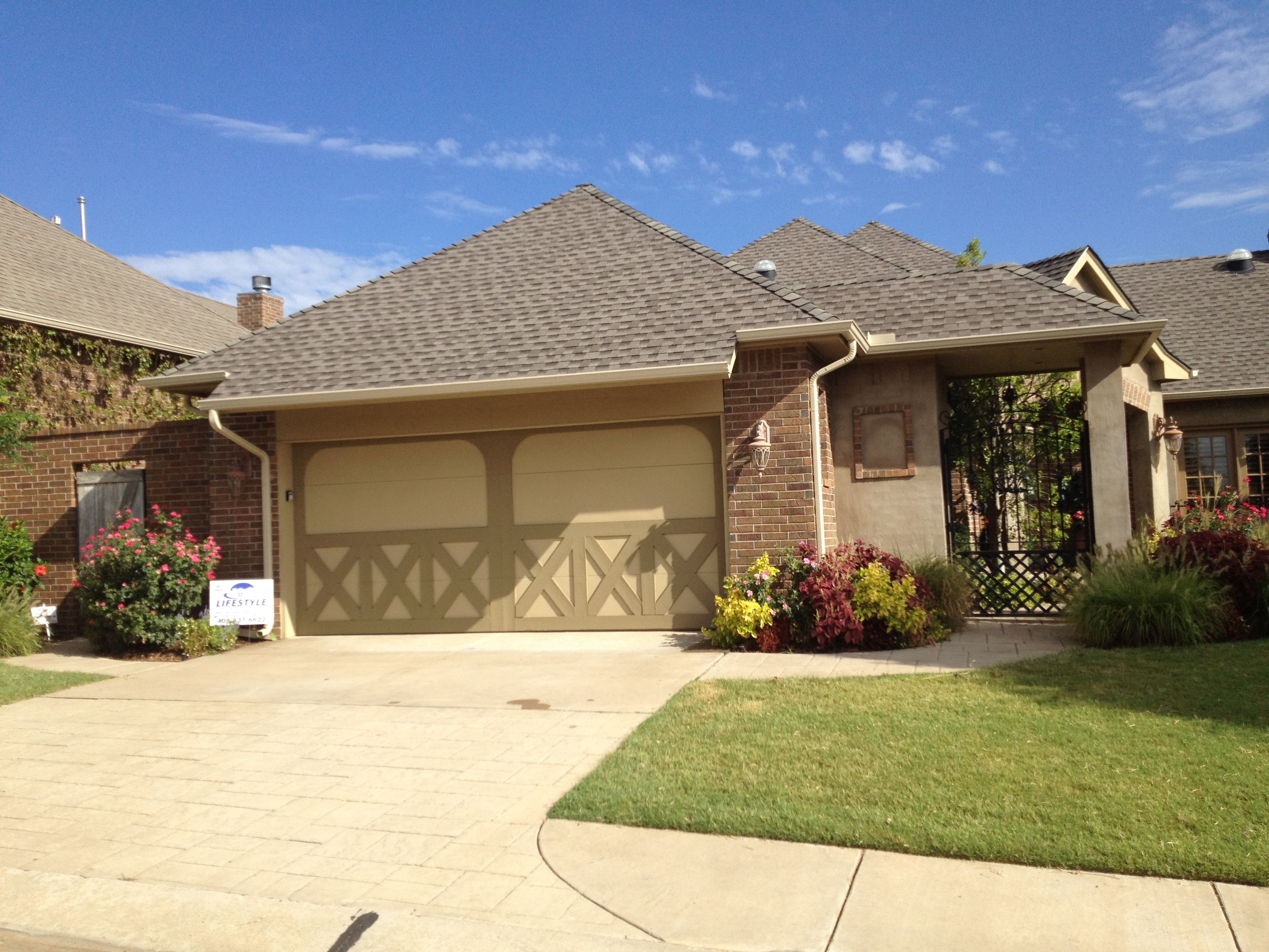 Lifestyle home improvement okc inc roofing and Building a house in oklahoma