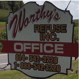 Worthy's Refuse Inc - Mc Veytown, PA - Debris & Waste Removal
