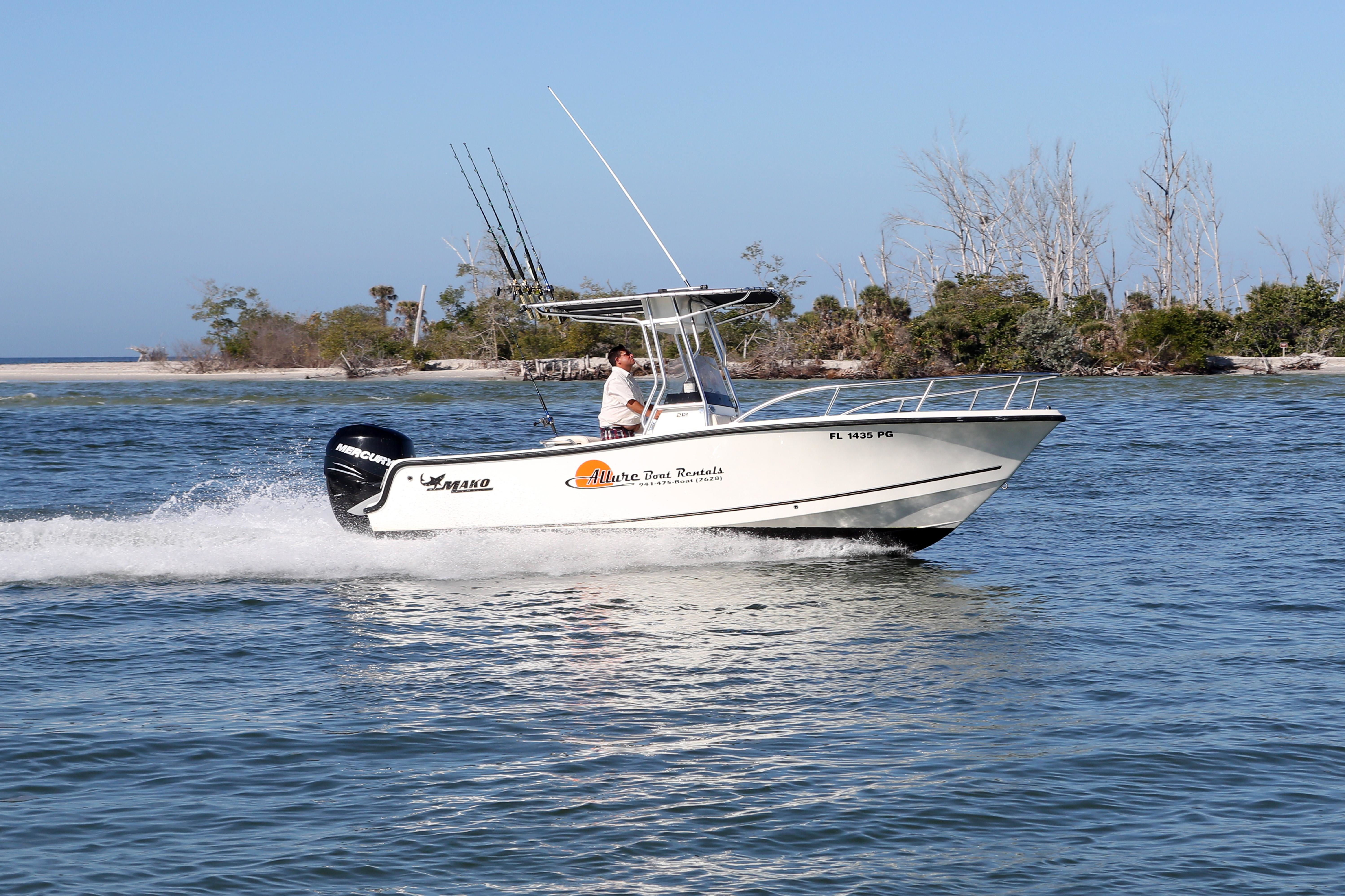 Allure boat rentals in englewood fl 34223 for Fishing in englewood florida