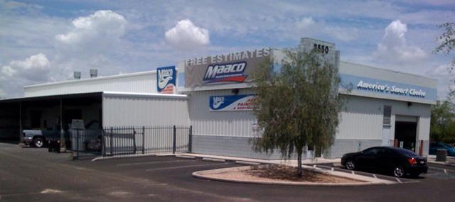 Maaco collision repair auto painting tucson arizona az for Auto painting az