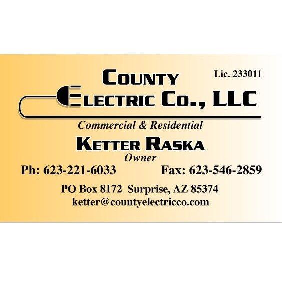 County Electric Co - Surprise, AZ - Electricians