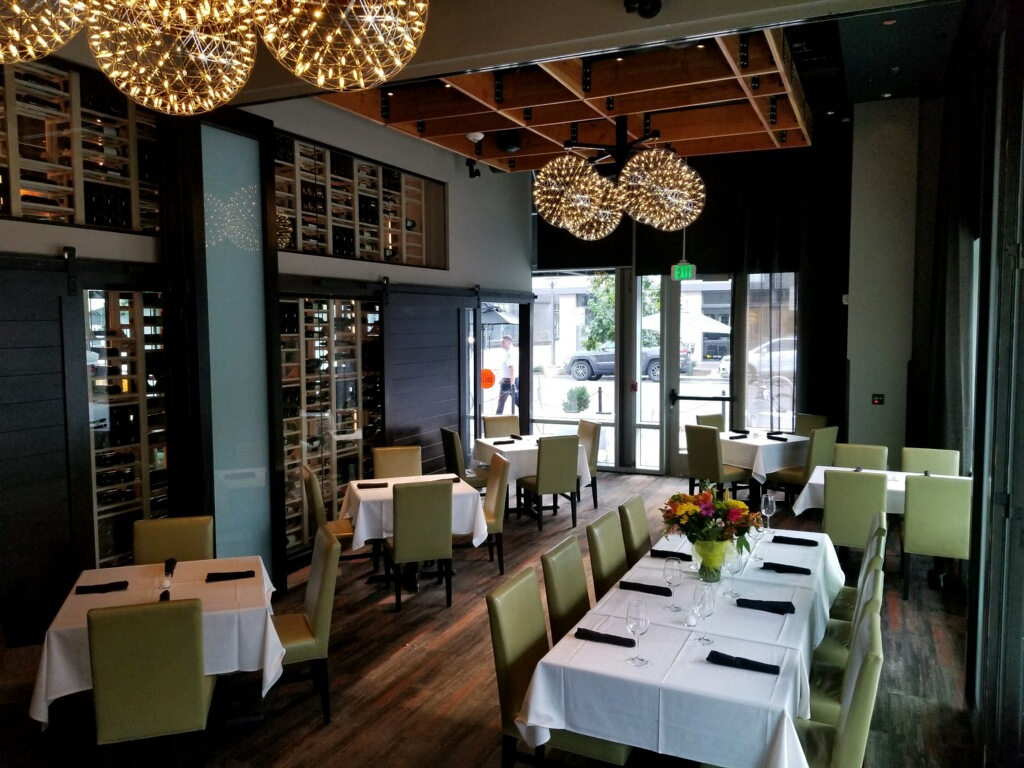 Del Frisco's Grille Cherry Creek Private Room group dining room