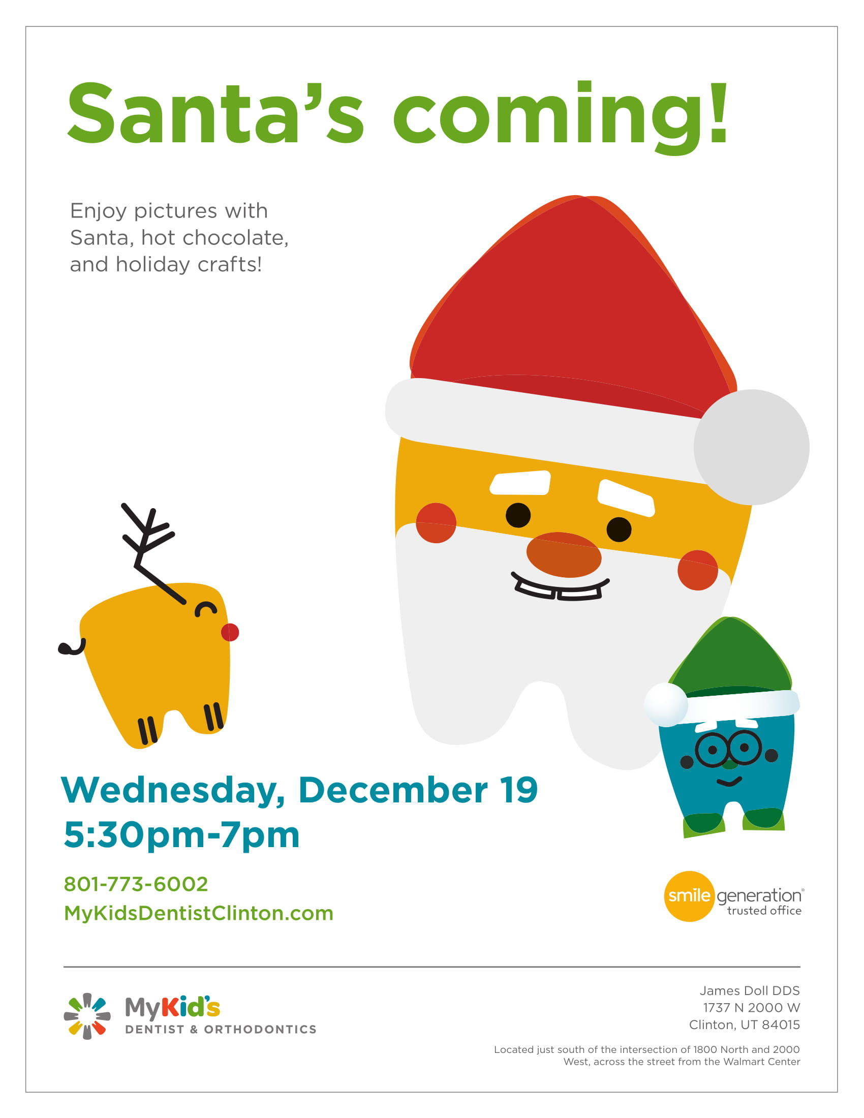Santa's Coming!