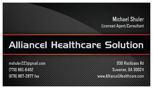 Alliance1 Healthcare Solutions