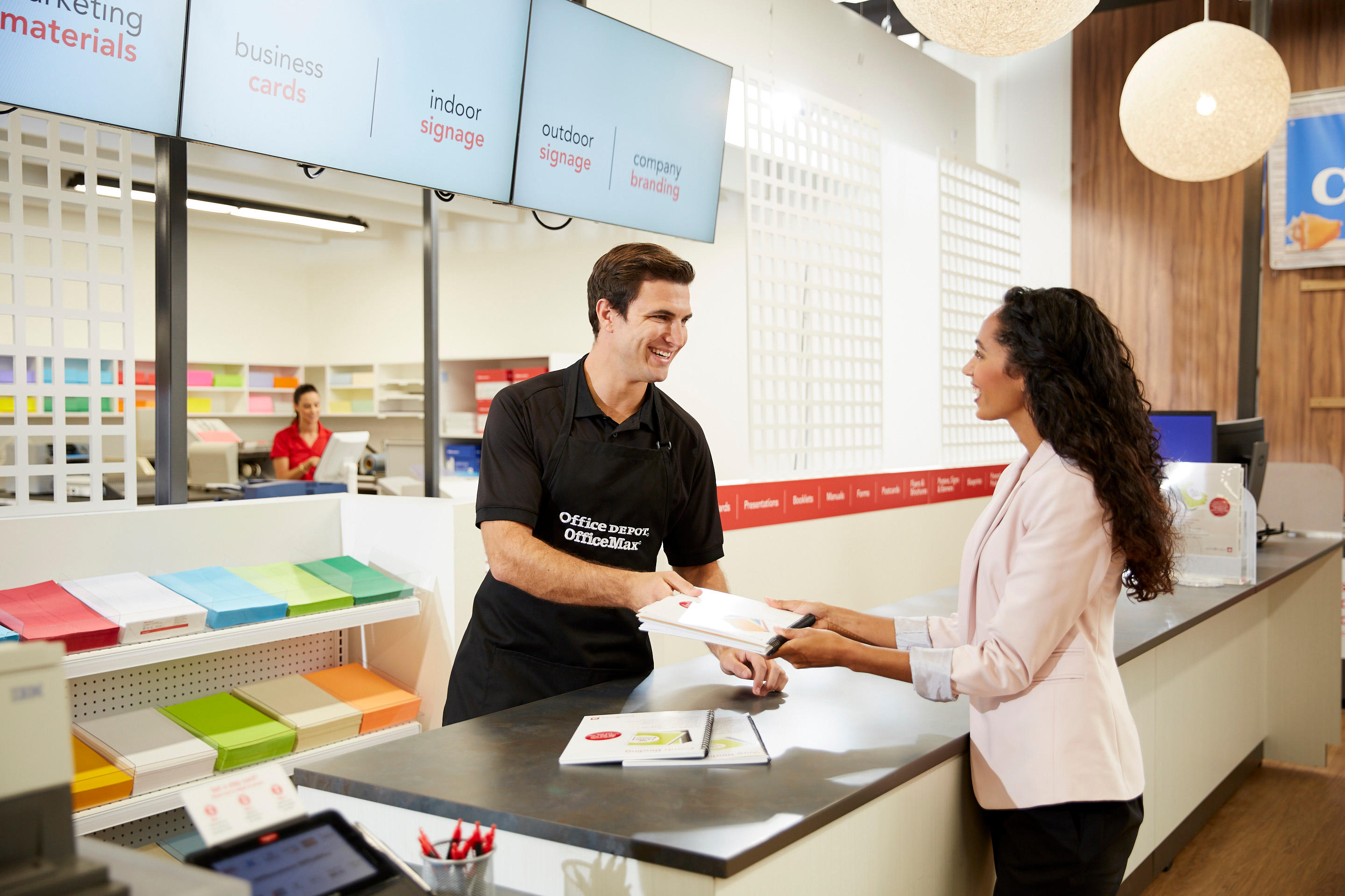 Superbe Bring Your Print Or Copy Jobs To An Office Depot Or OfficeMax Store Our  Print U0026 Copy Associates Are Here To Help. Create. Print. Pack. Ship Done  Right.