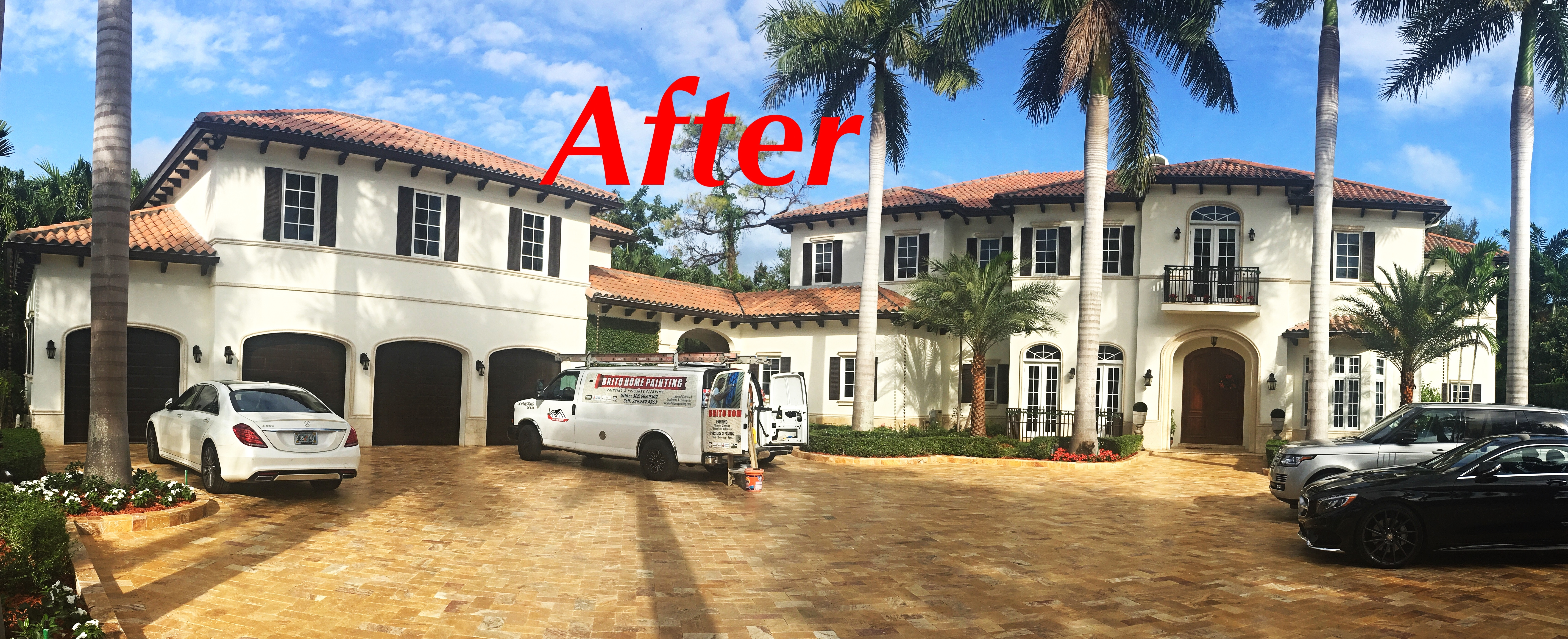 Brito home painting in miami fl 33165 for House painting miami