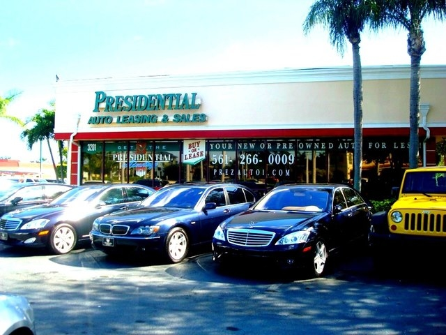 presidential auto sales service leasing delray beach. Black Bedroom Furniture Sets. Home Design Ideas