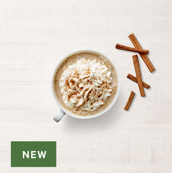 In Season! Cinnamon Spice Latte