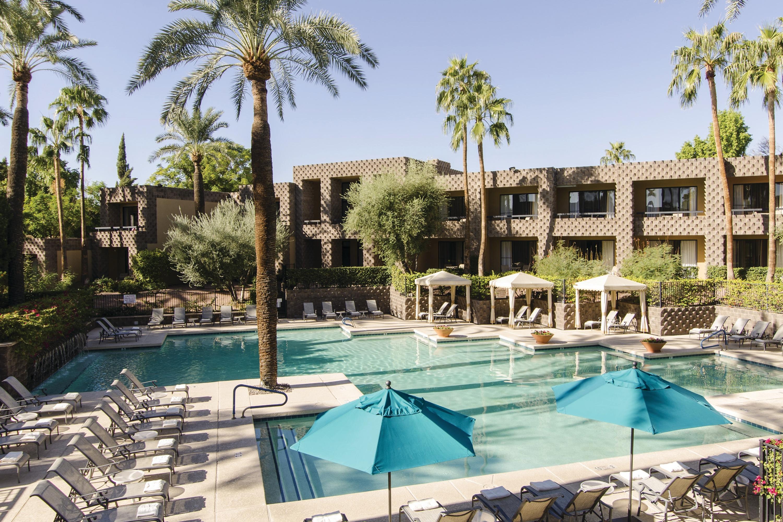 Doubletree Resort By Hilton Hotel Paradise Valley Scottsdale Scottsdale Arizona Az