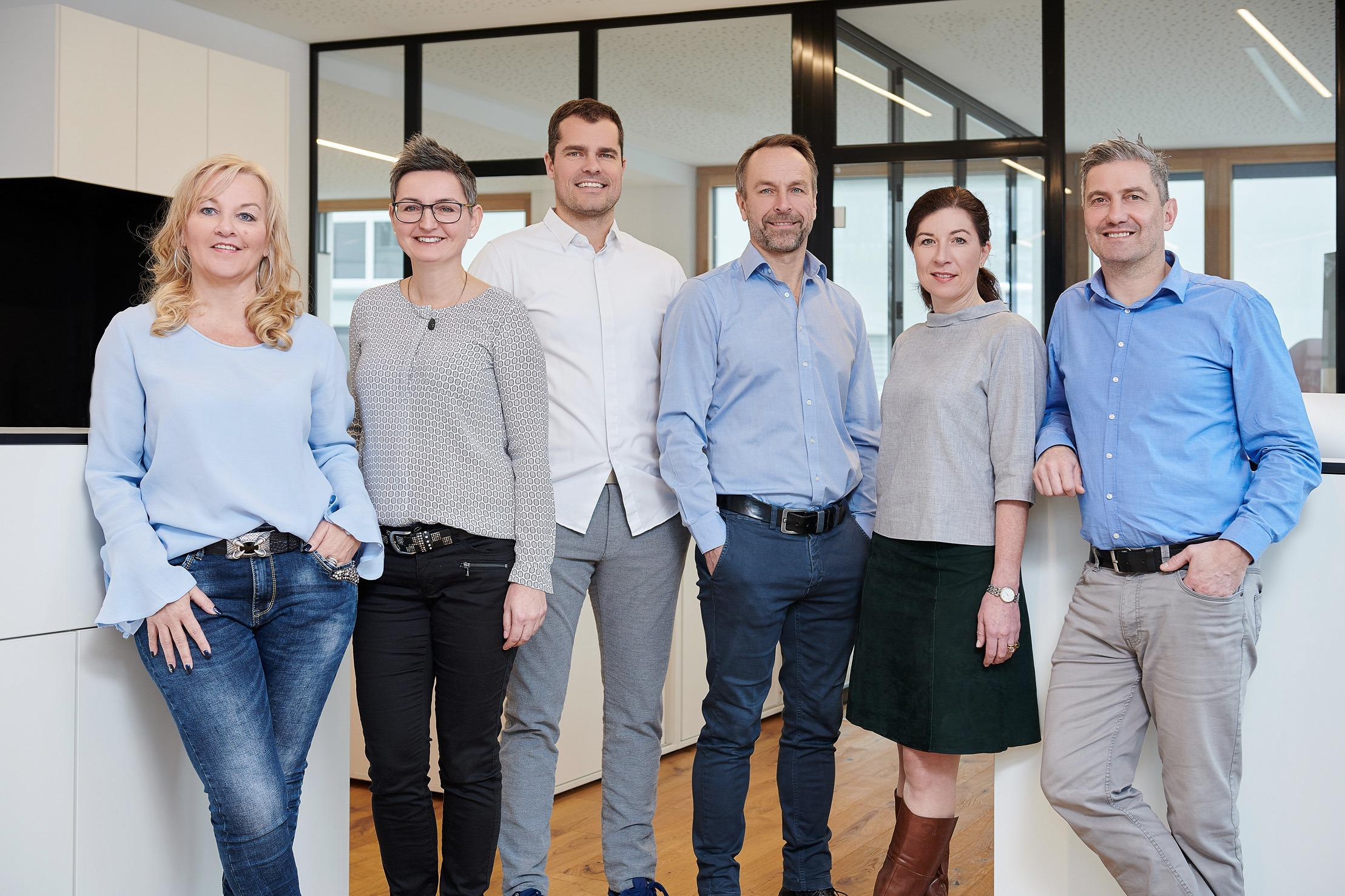 Das Team von Andreas Hofer Immobilien