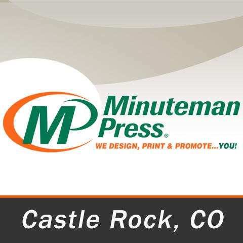 Minuteman Press Castle Rock - Castle Rock, CO 80109 - (303)688-5692 | ShowMeLocal.com