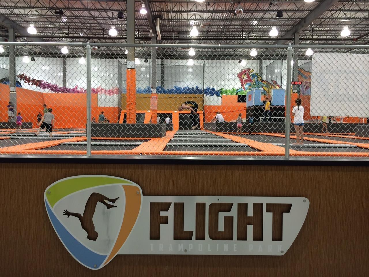 Flight trampoline coupons