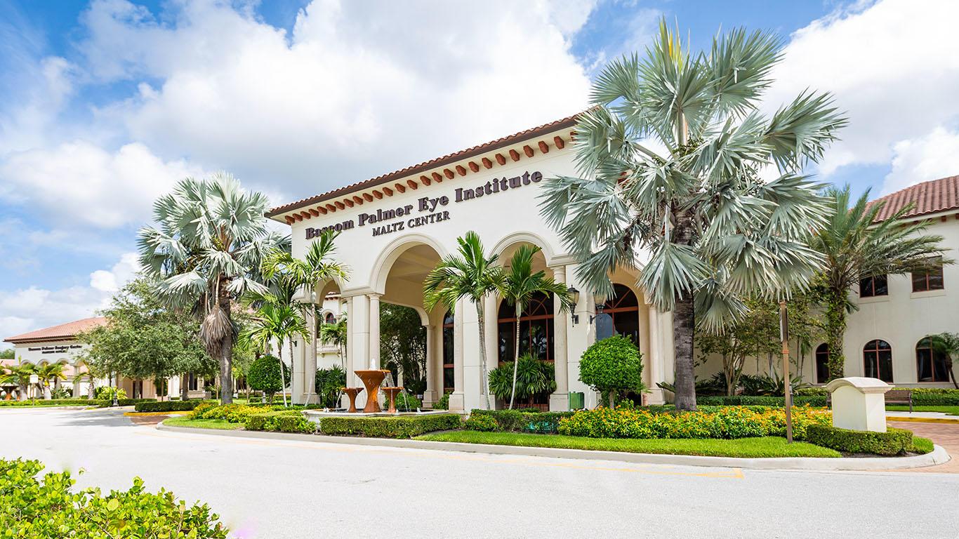 Bascom Palmer Eye Institute Palm Beach Gardens Florida