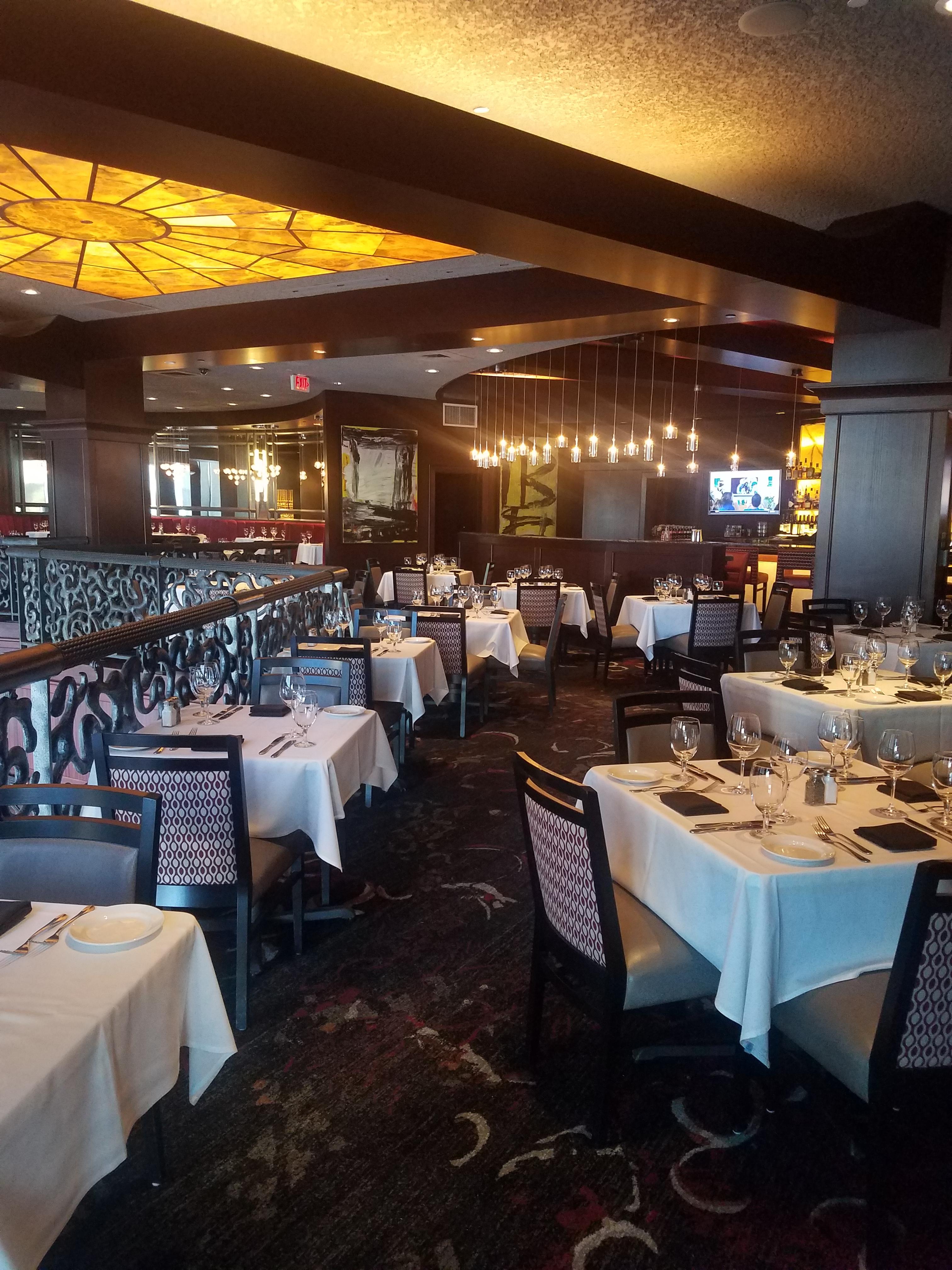 Del Frisco's Double Eagle Steakhouse Houston The Mezzanine private dining room