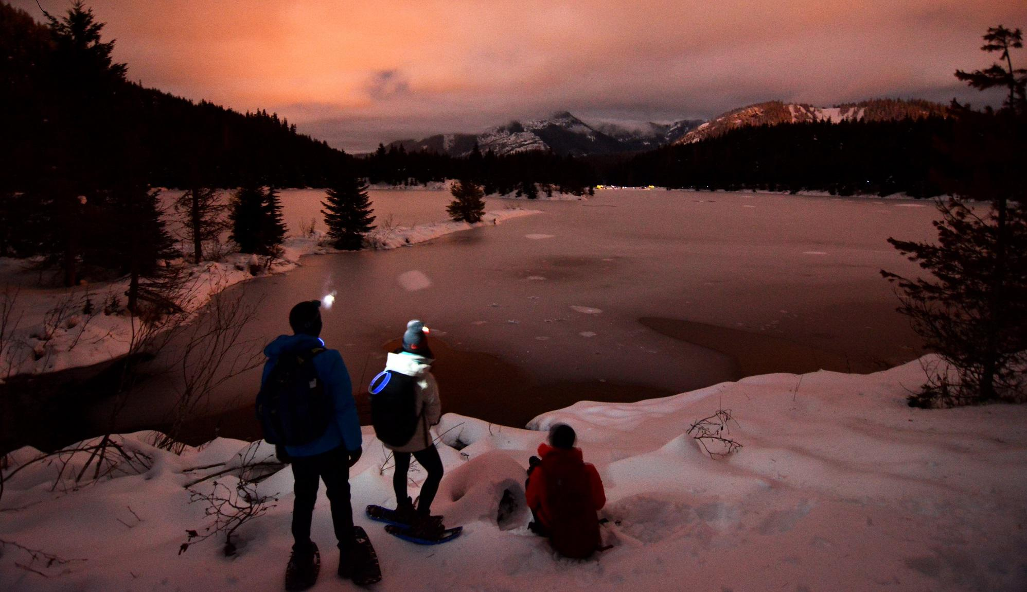 Luminary Snowshoe: Winter Solstice Celebration