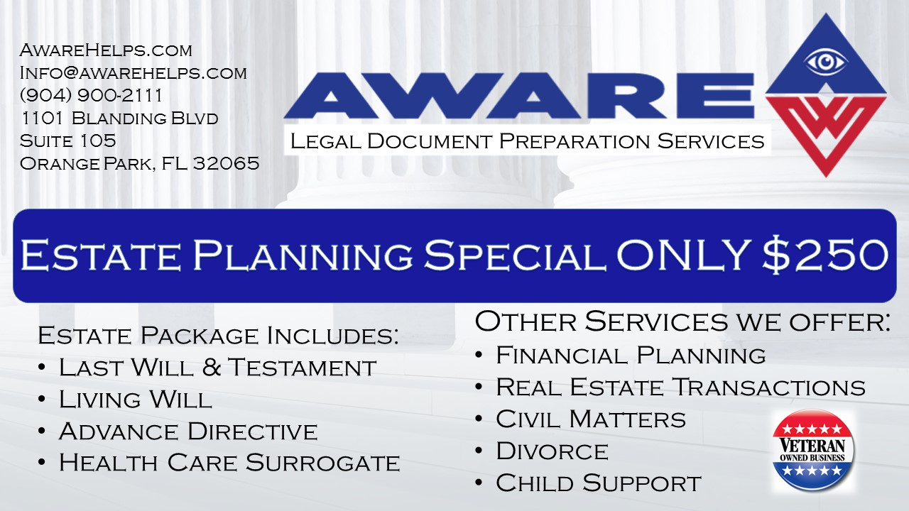 Aware Financial Planning And Legal Document Preparation Services In - Legal document preparation services