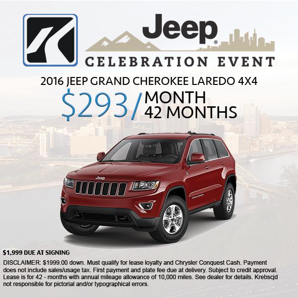 Krebs chrysler jeep dodge ram coupons near me in gibsonia for M l motors chrysler dodge jeep ram